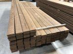 Thermowood borovi fenyő teraszburkolat 'A' 26x115mm D4sg(2)