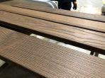 Thermowood borovi fenyő teraszburkolat 'A' 26x115mm D4sg(3)